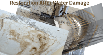 Restoration after Water Damage