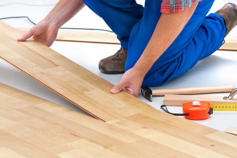 install wood laminate flooring