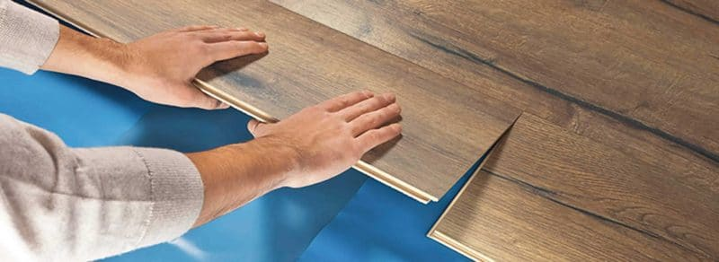 installing laminate technique
