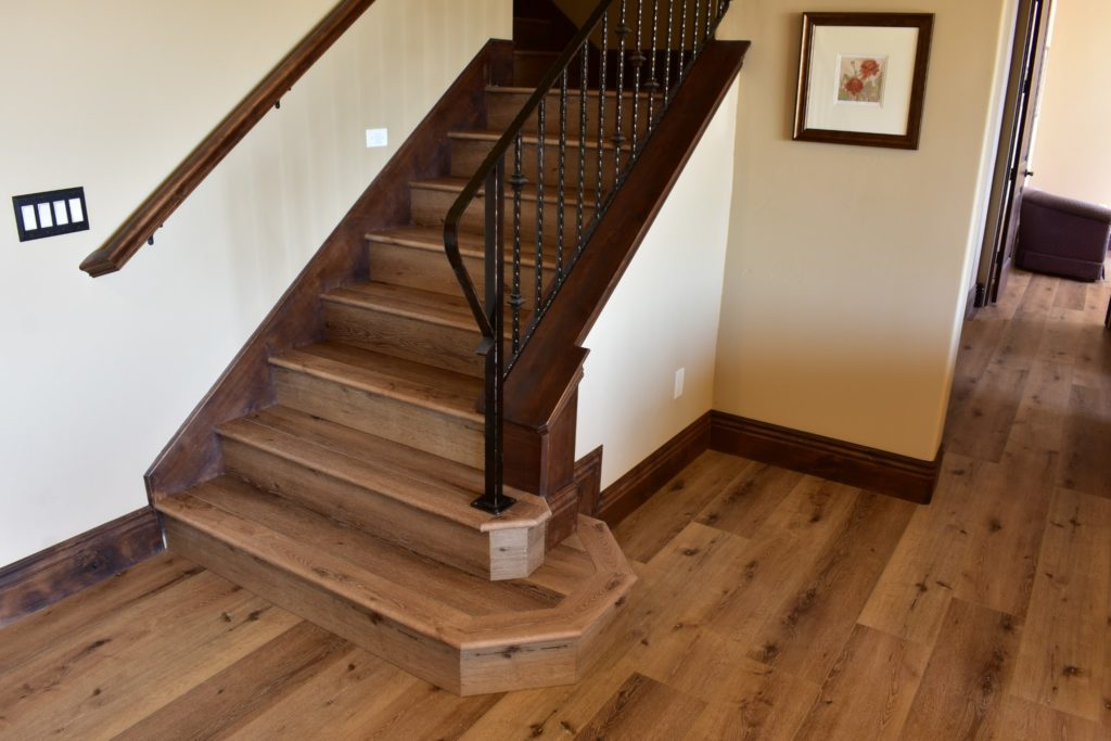 Waterproof Laminate Floors Double Stairs