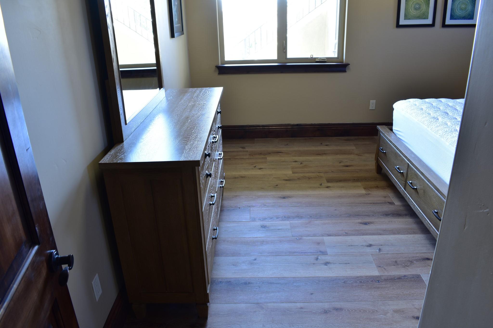 Waterproof Laminate Floors Installed Bedroom