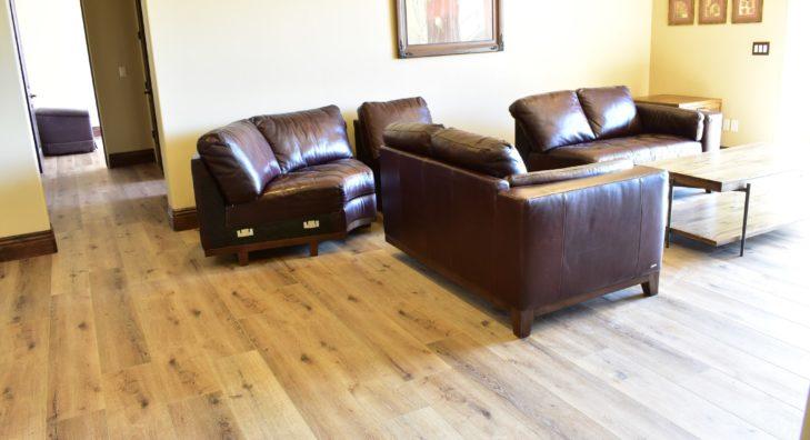 Waterproof Floors Installed Living Room