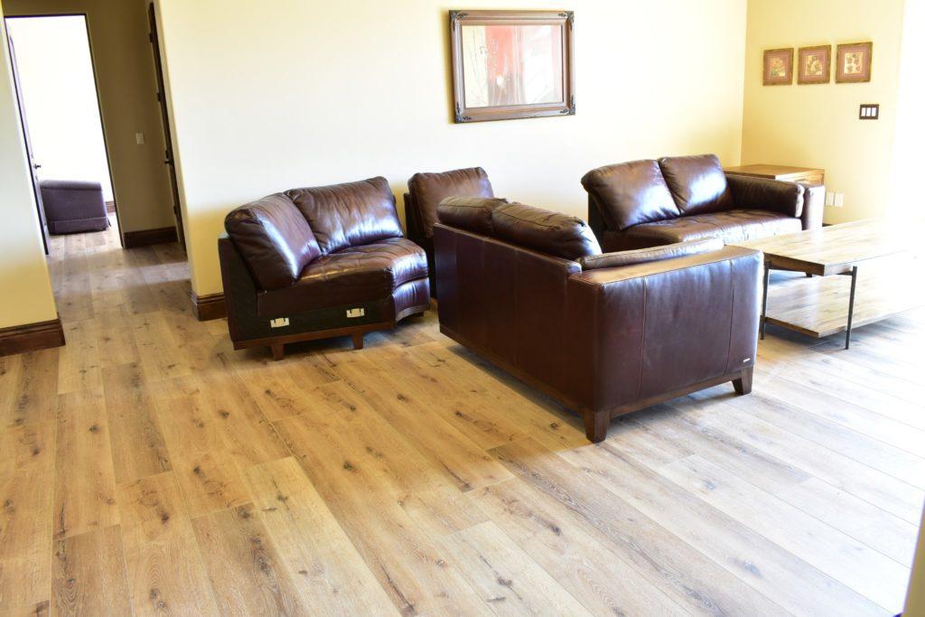 Waterproof Laminate Floors Installed Living Room