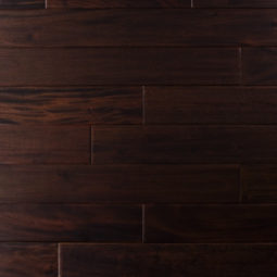 Mahogany Collection Solid Hardwood Dark Ebony Flooring