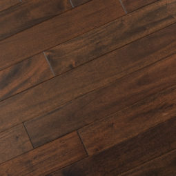Mahogany Collection Solid Hardwood Pitch Comodo Flooring